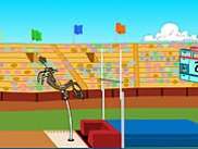 Wile E. Cayotes Pole Vault Challenge